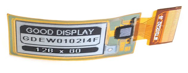 ".02"" E-Paper Display"