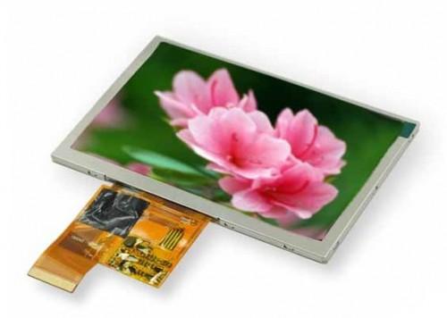 5 inch TFT LCD